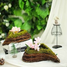 Introducing All-Natural Preserved Moss Decoration Supplies and Craft Supplies at Tablecloths Factory. Shop for Moss Planters, Moss Grass, Moss Balls, Moss Fillers and more! Fall Planters, Large Planters, Green Wedding Decorations, Table Decorations, Moss Grass, Moss Centerpieces, Moss Decor, Wooden Textures, Flower Stands