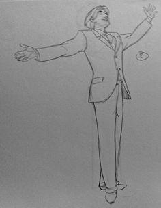 Film: Anastasia =====  Character: Demitri =====  Note: I LOVE this pose!!!