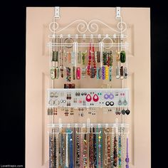 Over The Door, Wall Jewelry Organizer Pictures, Photos, and Images for Facebook, Tumblr, Pinterest, and Twitter