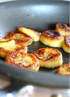 Fried Honey Banana    This is the healthiest dessert ever.  Shallow fry your bananas and drizzle with honey. DONE!!!!! Enjoy