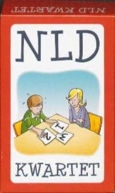 NLD KWARTET - Kwartetspel waarin alle vaardigheden en tekorten die horen bij NLD (non-verbale leerstoornis) overzichtelijk aan de orde komen... Bestemd voor leerkrachten en andere professionals, maar ook leerzaam voor iedereen die meer inzicht in de stoornis wil krijgen.