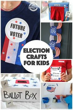 Election Crafts for Kids