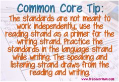 Tip #3 for Implementing the Common Core State Standards in Your ELA Curriculum