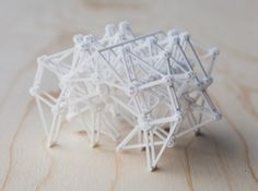 3D printed Strandbeests designed by Theo Jansen.