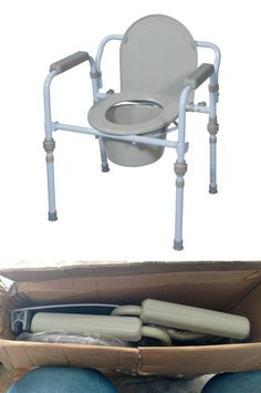 Toilet Frames and Commodes: Commode Chair For Toilet Adult Disabled ...
