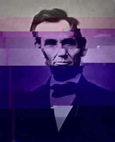 manipulated image of president lincoln