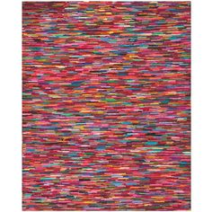Safavieh Nantucket Pink/Multi 6 ft. x 9 ft. Area Rug-NAN142A-6 - The Home Depot