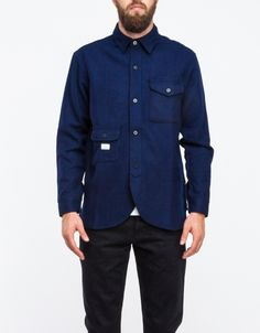 a1d2f2132d Army Shirt in Navy Mens Designer Brands