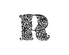 floral design alphabet - Google Search