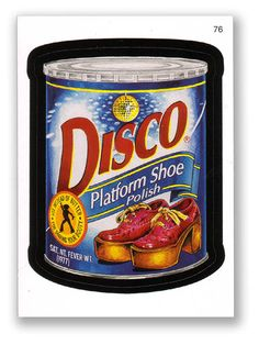 Wacky Packages Topps 6th Series 2007 Sticker: Disco - #76