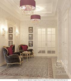 Интерьер прихожей в квартире - http://www.ok-interiordesign.ru/ph26_design-interyera-prihozhey.php