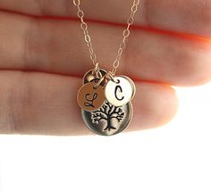 Etsy listing at https://www.etsy.com/listing/115329312/personalized-mothers-necklace-family