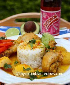 Sudado de Pollo (Colombian-Style Chicken Stew) - I Cook Different Colombian Dishes, My Colombian Recipes, Colombian Cuisine, Cuban Recipes, Stew Chicken Recipe, Chicken Recipes, Pork Recipes, Columbian Recipes, Pollo Guisado