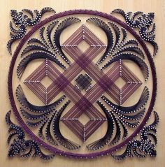 28 DIY Thread and Nails String Art Projects That Will Beauti.- 28 DIY Thread and Nails String Art Projects That Will Beautifully Reshape Your Interior Decor 28 DIY Thread and Nails String Art Projects That Will Beautifully Reshape Your Interior Decor - Nail String Art, String Crafts, Arte Linear, String Art Patterns, Doily Patterns, Dress Patterns, Arts And Crafts, Diy Crafts, Paper Embroidery