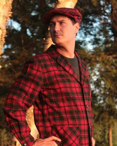 Vintage Plaid PENDLETON NewsBoy CABBIE HAT Modern Mens Classic Campus Fall Winter Grandpa Holiday Retro Red Tartan Topper Cap - Extra Large by HarlowGirls on Etsy