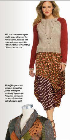 Chinese Lantern Skirt - Fashion in Harmony