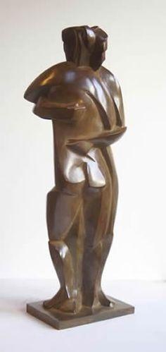 Margriet Barends, 'Embrace',                                                                              brons,                                                     hoogte: 39 cm