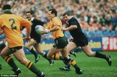 David Campese. One of the greats