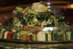 Shredded Kale & Brussels Sprout Salad~I'm addicted!