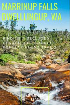 A short family hike to Marrinup Falls, hidden amongst the more popular hiking and camping spots in Dwellingup yet relatively unknown and secluded Camping Near Me, Camping Spots, Truck Camping, Camping Guide, Camping Trailers, Camping Ideas, Western Australia, Australia Travel, Queensland Australia