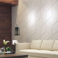 Bas Relief Cubes – Wall Panels – Decorative Wall Panels – Bas Releif – Wall Panels – Geometric – Wall Paneling – Paneling – - Home Page Accent Wall, Interior, Wall Treatments, Interior Walls, Home Decor, Kitchen Wall Panels, Geometric Wall, Rustic Doors, Decorative Wall Panels