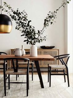 Home Interior Design, Interior Styling, Beautiful Dining Rooms, Dining Room Design, Home Kitchens, Dining Table, Home Decor, Crate, Barrel