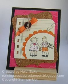 School Days by hlw966 - Cards and Paper Crafts at Splitcoaststampers