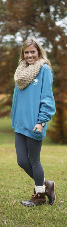 Wait a second... This sweatshirt has pockets? Yep, it does! You're gonna love the Raglan Fleece Sweatshirt from Southern Shirt Company!