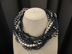w Mokobelle nie tylko są bransoletki #mokobelle #necklace #jewelery #blackandsilver