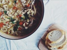 Chicken Noodle Soup | Little Baby Garvin