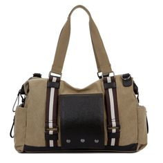 Vintage Canvas Unisex Travel Bag. Duffle BagsDuffle Bag TravelMens Travel  BagTravel ToteMessenger BagsTravel LuggageLarge ... 906aea802e718