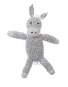 adorable donkey stuffed animal {The Little Market}