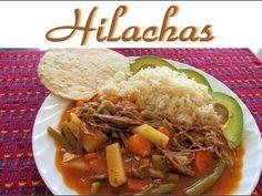 Las Hilachas son un delicioso platillo tradicional en Guatemala que se prepara con carne de res cortada en hebras o hilos (de donde viene su nombre), salsa y verduras, puede acompañarse con aguacate, arroz y tortillas.  Espero la disfruten y se animen a prepararla. ;o)    Visita http://mundochapin.com/