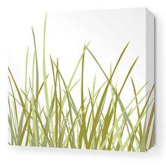 Summer Grass Stretched Wall Art