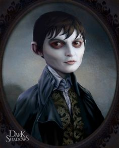 Portrait of Barnabas Collins by *nonnahs144
