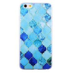 Amazon.com: iPhone SE Case, ZQ-Link® Ultra Slim Soft TPU Gel Case Skin Cover Protective Bumper Case for Apple iPhone SE/5S/5 Moroccan Tile Pattern Design: Cell Phones & Accessories