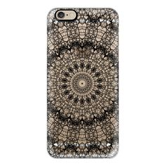 iPhone 6 Plus/6/5/5s/5c Case - Lacy Web Noir (transparent) ($40) ❤ liked on Polyvore featuring accessories, tech accessories, phone cases, phones, iphone case, iphone cover case, transparent iphone case, apple iphone cases and slim iphone case