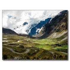 Bolivia - The Bolivian Death Road Carte Postale