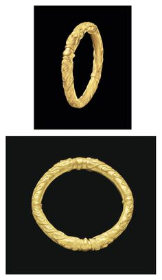 A CELTIC GOLD BRACELET CIRCA LATE 5TH-EARLY 4TH CENTURY B.C.