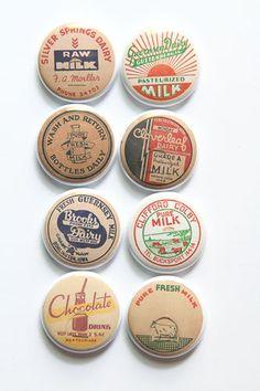 Local Milk cap Flair 2 by kidsmom1999 on Etsy, $6.00