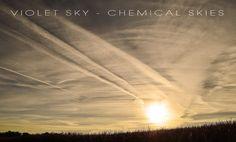 Chemical Skies ~ Violet Sky
