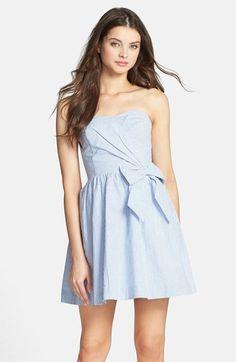 Lilly Pulitzer® 'Henrietta' Seersucker Cotton Fit & Flare Dress available at #Nordstrom Derby dress?