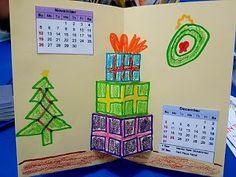 untuk anakanak sekolah minggu: 2017 kalender pop-up kado kado( utk November dan D...