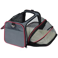 WOLTU Expandable Softsided Pet Carrier Pet Tote for Cats Small Dogs and PuppiesGrey *** Check this awesome product by going to the link at the image.-It is an affiliate link to Amazon. #CatCarrier