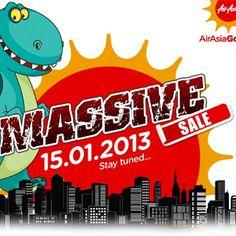 โปรโมชั่น AirAsia Go Massive Sale ตั๋วเครื่องบินไป-กลับ+ที่พัก 2 คืน เริ่มต้นที่ 799 บาท