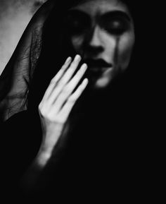 """""""With no colors in our skin We were light and paper thin"""" — Photographer: Katarina Oresanska"""