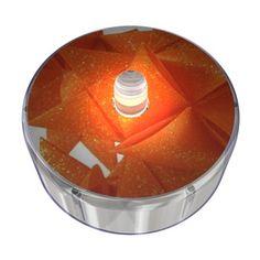 Orange Party Dot Design 034