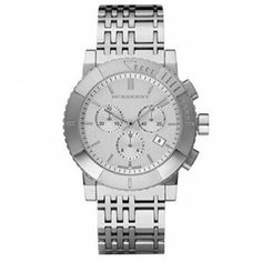Burberry BU2303 Silver Men\'s Watch