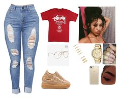 """""""Untitled #72"""" by miyahthehunter ❤ liked on Polyvore featuring Michael Kors, Speck and Puma"""