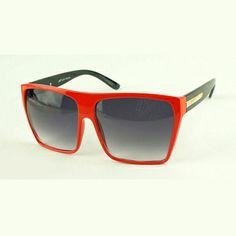 """""""Ayden"""" 80's Oversized Flat Top Unisex Sunglasses http://www.thehoneyroom.com/ayden-80s-oversized-flat-top-unisex-sunglasses/"""